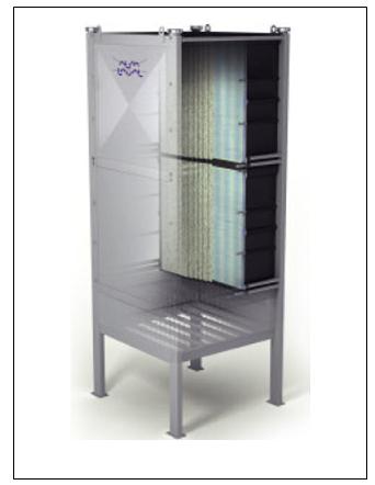 Membrana  MBR para el tratamiento de aguas industriales de hoja hueca de Alfa