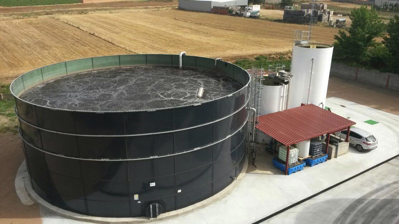 Aguas residuales en bodegass